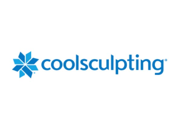 The Coolsculpting logo -  this proven body shaping tool is available at Envision Medical Spa in Leduc
