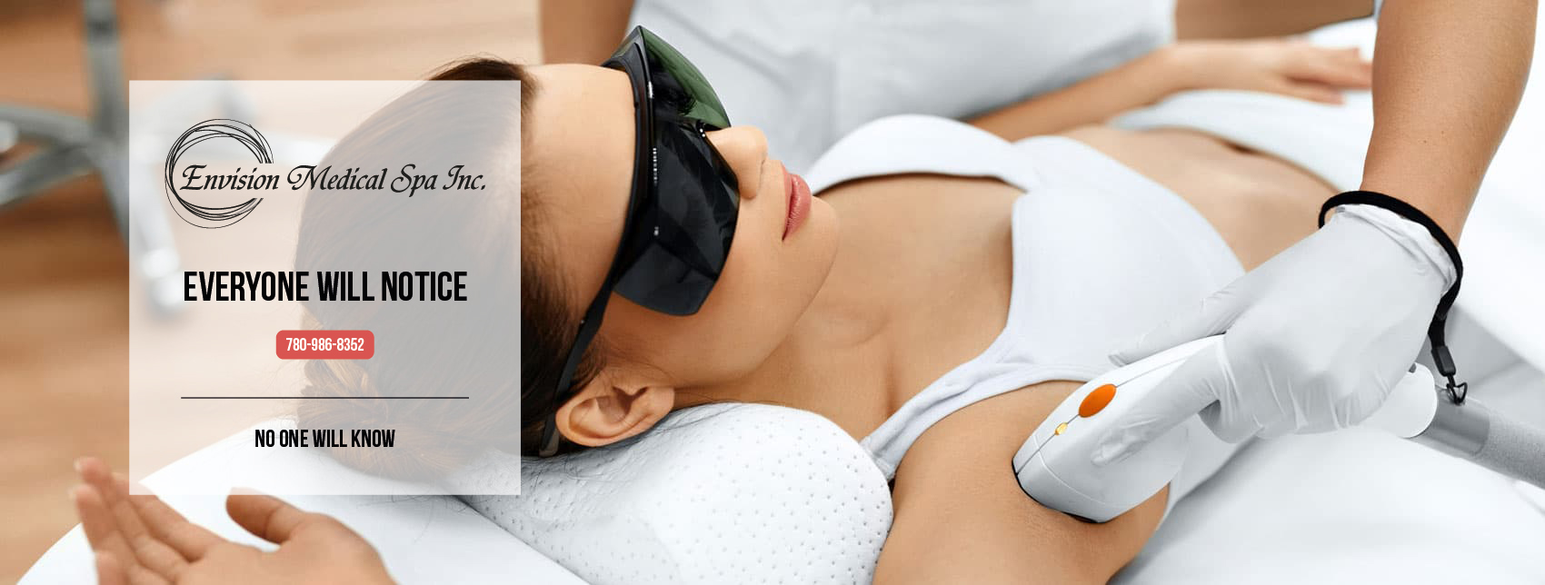 Hair removal and fat reduction are just two of the body treatments available from Envision Medical Spa