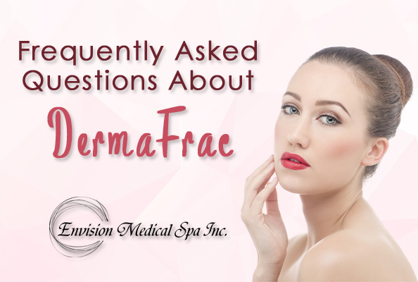 Envision Medical Spa located in Leduc, Alberta offers the DermaFrac treatment