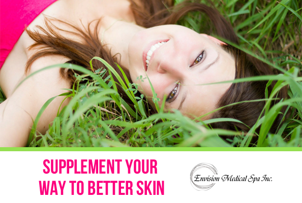 Envision Medical Spa sells supplements to better your skin